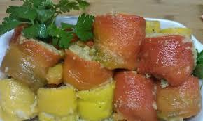 Involtini di peperoni grigliati con tonno e capperi thumbnail
