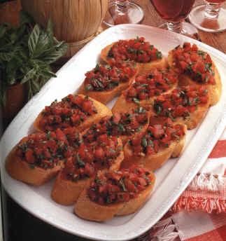 Bruschette sfiziose alle olive e pomodorini post image
