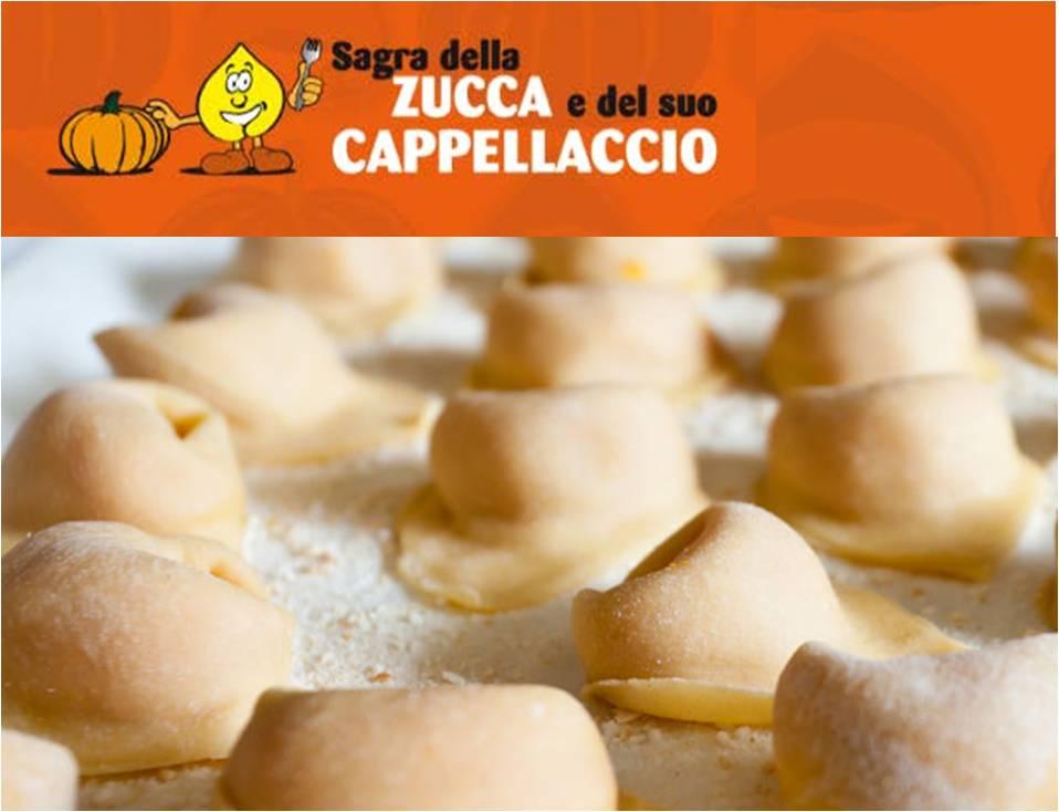 Sagra della Zucca e del suo Cappellaccio, dal 22 agosto all' 1 settembre 2013 a San Carlo (Fe) post image