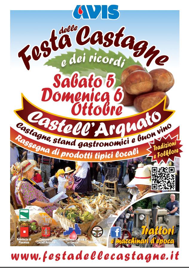 Festa delle Castagne e dei Ricordi, il 5 e 6 ottobre 2013 a Castell'Arquato (Pc) thumbnail