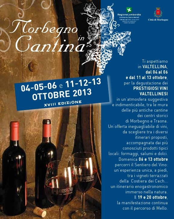 Morbegno in Cantina, dal 4 al 20 ottobre 2013 a Morbegno (So) thumbnail