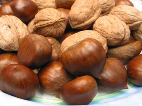 Castagnaccio al cioccolato e noci thumbnail