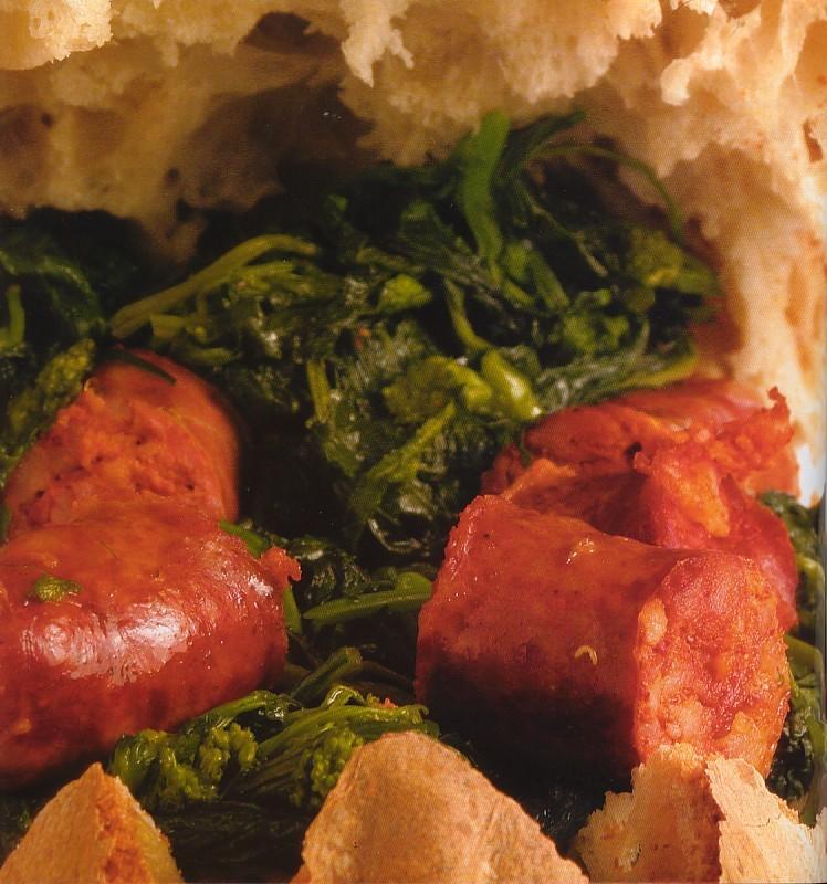 Broccoli e salsiccia in padella thumbnail