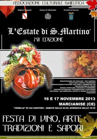 Sagra estate di San Martino, il 16 e il 17 novembre 2013 a Marcianise (Ce) thumbnail