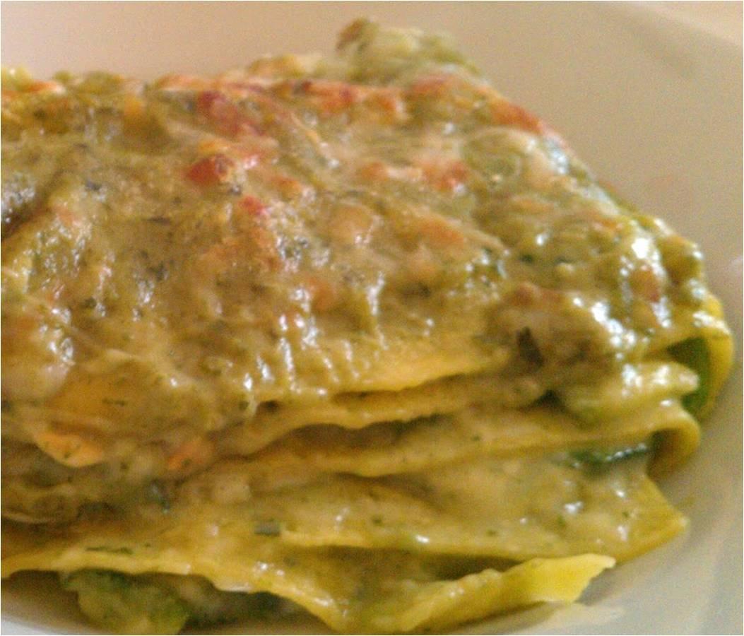 Lasagne al pesto thumbnail