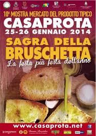Sagra della Bruschetta dal 25 al 26 gennaio 2014 a Casaprota (RI) thumbnail