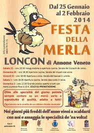 Festa della merla, dal 25 Gennaio al 2 febbraio 2014 ad Annone Veneto (VE) thumbnail