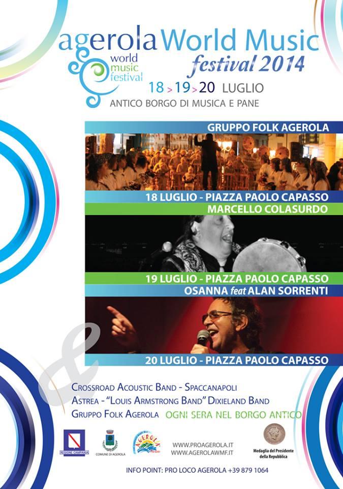 Agerola world music festival, dal 18 al 20 luglio 2014 thumbnail