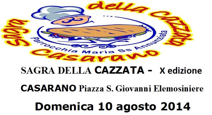 Sagra della focaccia 2014, il 10 agosto a Casarano (Le) thumbnail