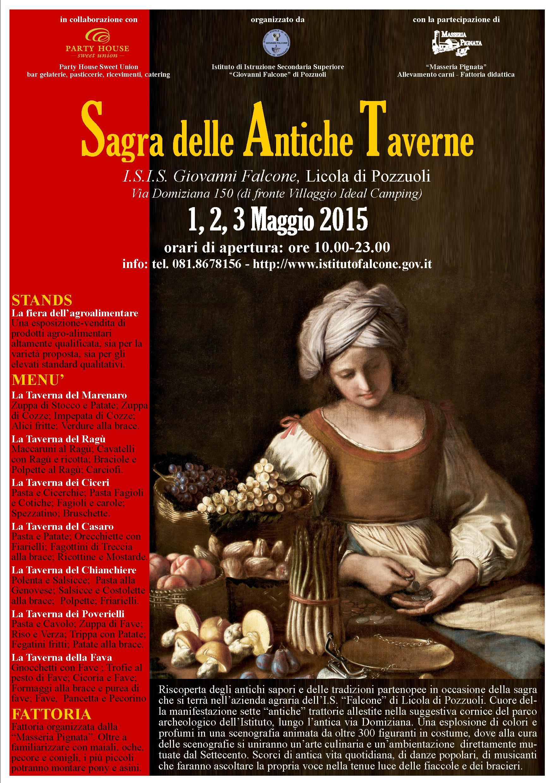 V Sagra delle antiche taverne, dall'1 al 3 maggio 2015 a Licola di Pozzuoli (Na) thumbnail