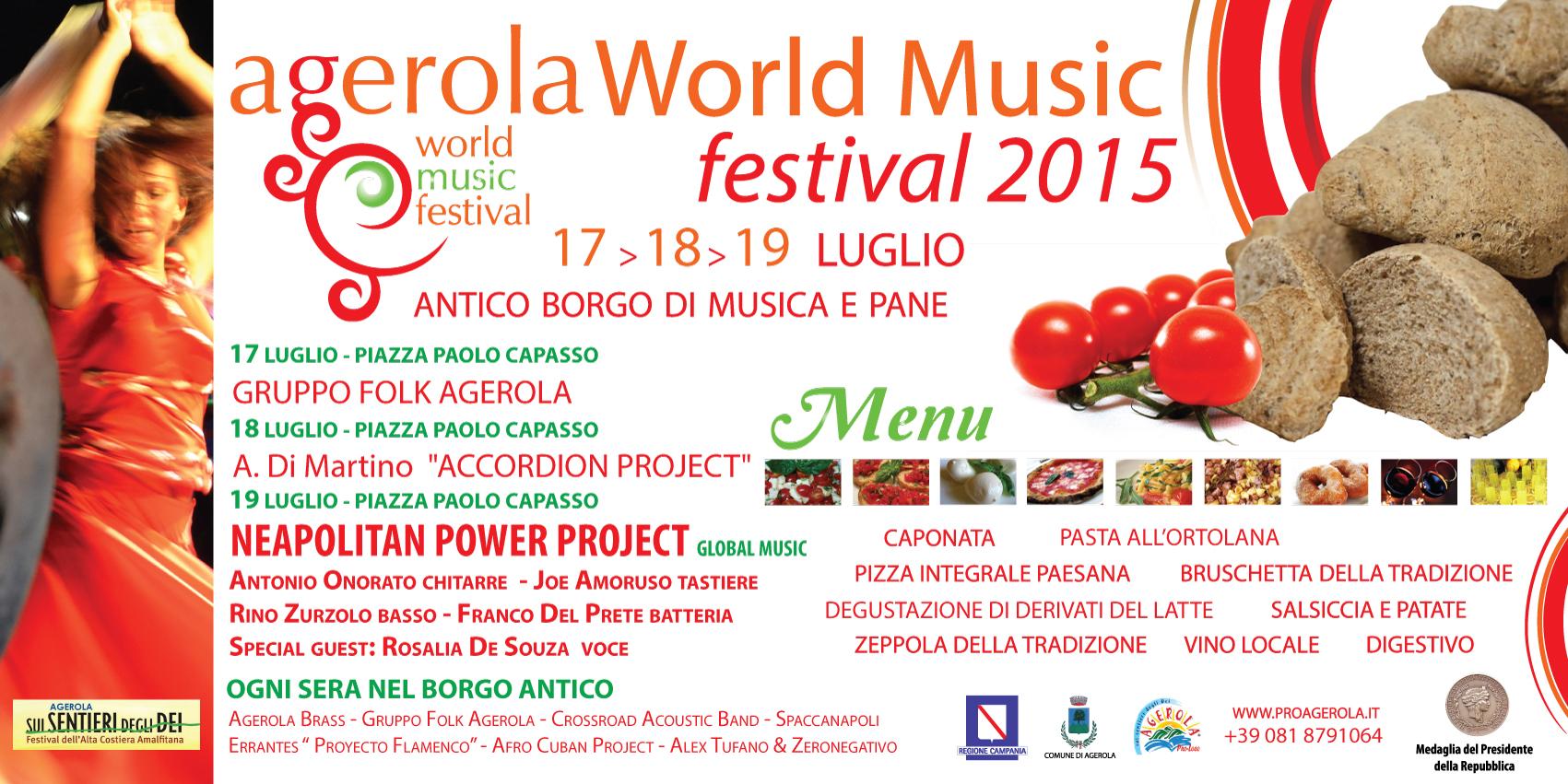 Agerola world music festival, dal 17 al 19 luglio 2015 a Agerola (Na) thumbnail