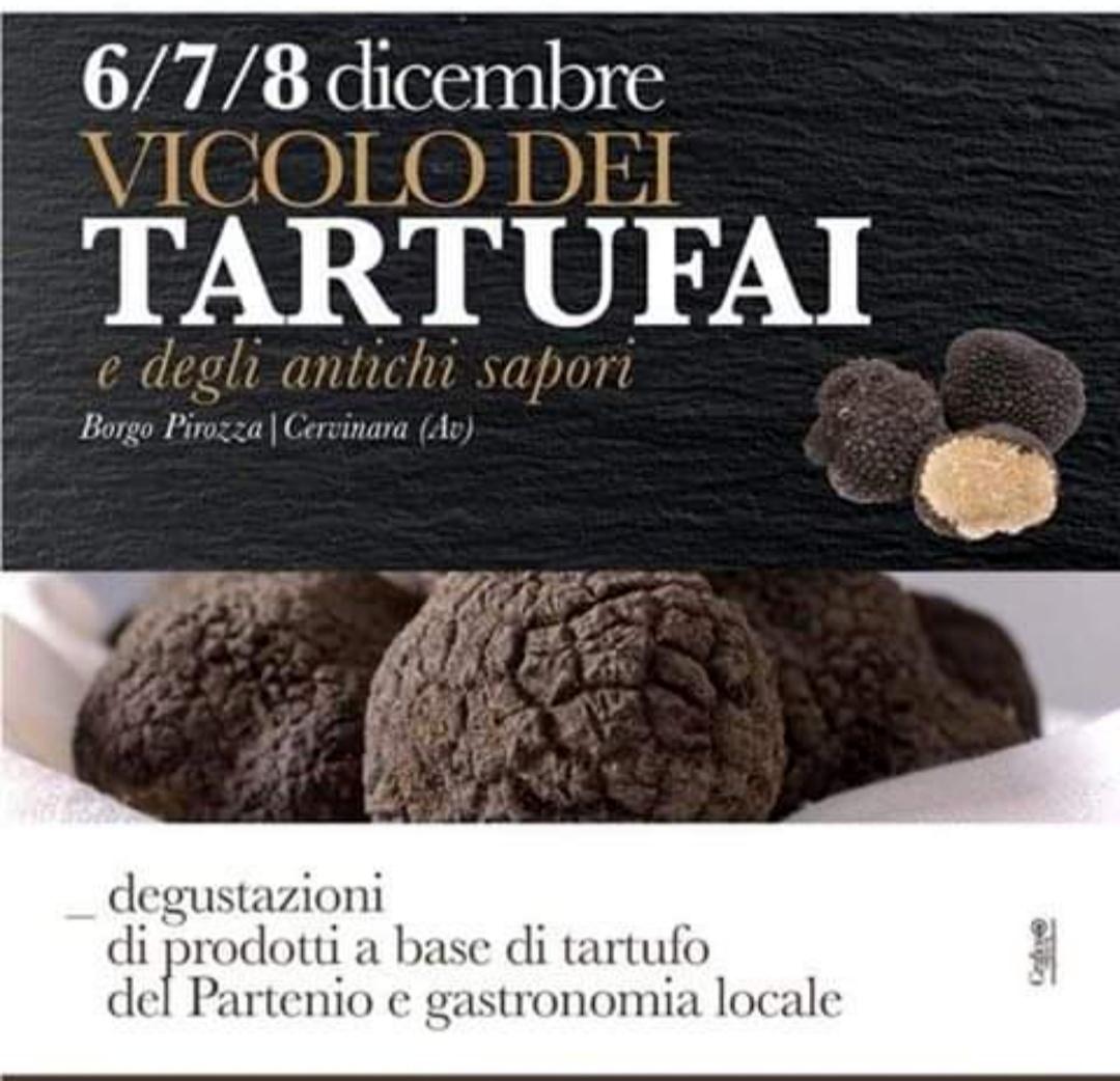 Vicolo dei Tartufai e degli antichi sapori, dal 6 all'8 dicembre 2019 a Cervinara (Av) thumbnail